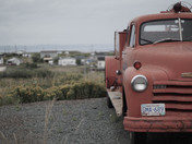 Antique Firetruck in Bell Island, Newfoundland
