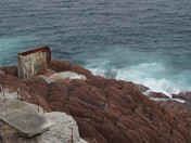 Waves on Fort Amherst