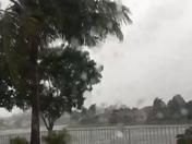 Hurricane Irma in Lake Charleston