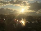 Sun Shower in Portland