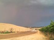 rain of lightning.
