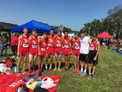 Dixie Heights XC Boys Team