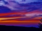 sunset & clouds, 9-13-2017