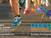Register TODAY & Walk, Run, Cornhole Toss at Lexie's Dragonfly 5K
