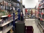 Leak in Walmart