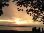 Sunset at Lake Red Rock