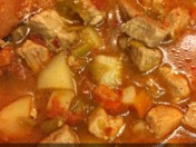 Adrienne's Green Chile Stew
