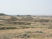 Badlands at Cypress Hills Saskatchewan