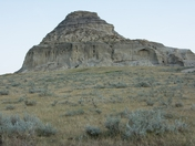 Castle Butte Big Muddy Saskatchewan