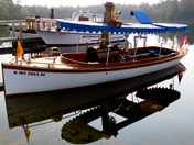 A fine day for the Moultonborough Steamboat Rally!