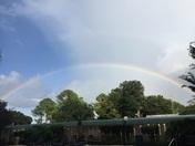 Sunday rainbow