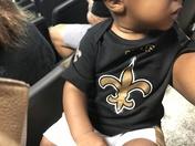 Kamal-Kingston's 1st NFL Saints game