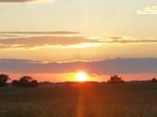 Sunset in Rural Jasper County