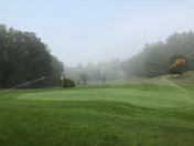 Morning Fog on Golf Course