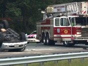 Serious accident on I-83 north at Padonia Road
