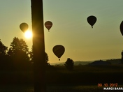 Chasing hot air balloons