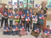 Mrs. Balentine's Class- Dales School Salute