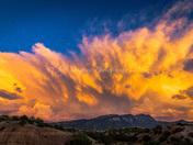 Placitas, NM Sunset 9-17-17
