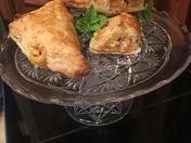 Chicken and Green Chili Empanada