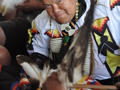 Drummer at Pow Wow