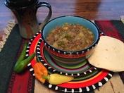 Tasty Bueno green chili stew !