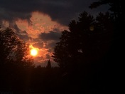 Sunset Fading Away