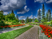 English Garden in Winnipeg