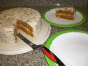 Green Chile Carrot Cake