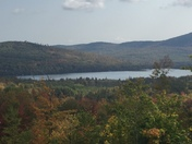 View of millsfield pond. From Atv trail