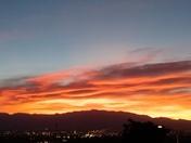 Sunrise over Albuquerque