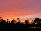 Sunset into dusk