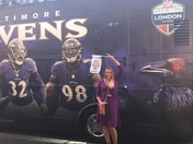 Sisters (and Ed reed) flock to London for the Ravens!!