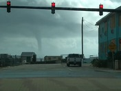 Water spout over Daytona Beach