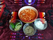 Red Chile Posole - Over Night in Crock Pot