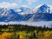Autumn morning in the Yukon