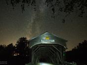 Milky Way over Hemlock Bridge