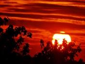 sunset & clouds, 9-24-2017