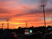 Sunrise at Starbucks in Kernersville 9/25/17
