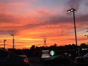 Sunrise at Starbucks in Kernersville 9/25/17