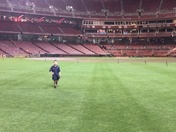 Scout night @ GABP/The real Field of Dreams!