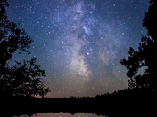Milky Way Over the Bruce Peninsula National Park
