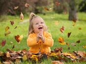Falling Leaves of Joy
