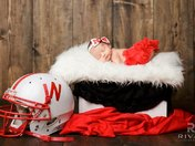 Lucy Lynn loves the Huskers!!!