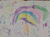 Aiden from Hopedale, LA weather drawing