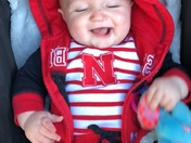 Biggest little Husker fan!