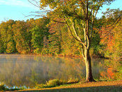Autumn on Stonelick Lake