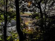 Susquehanna River at dusk