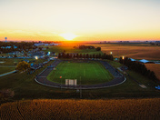 Friday Night Lights From Above