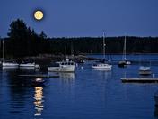 Dusk, New Harbor, Maine