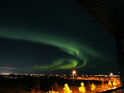 Aurora Borealis in South Edmonton